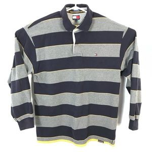 Tommy Hilfiger long sleeve polo striped